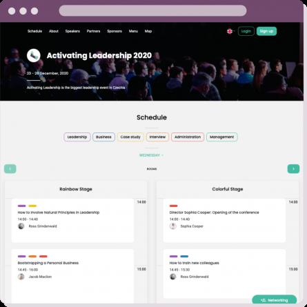 Event Agenda for Your Virtual Event